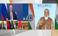 PM Modi speaking at 12th Brics summit 2020